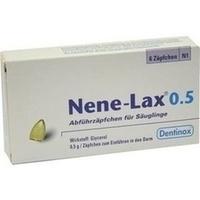 NENE LAX 0.5 SAEUGLINGE, 6 ST, Dentinox Gesellschaft für pharmazeutische Präparate