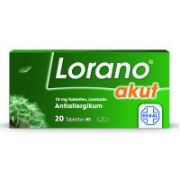 Lorano akut, 20 ST, HEXAL AG