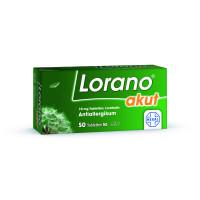 Lorano akut, 50 Stück, HEXAL AG