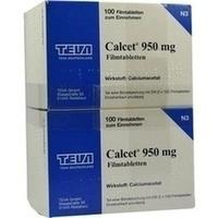 Calcet 950mg Filmtabletten, 200 ST, TEVA GmbH