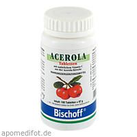 ACEROLA Vitamin C-Tabletten, 100 ST, Dr. Gottschalk Nahrungsmittel GmbH & Co. KG