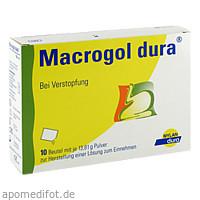 Macrogol dura Pulv. z. Herst. e. Lösg. z.Einnehmen, 10 ST, Mylan Healthcare GmbH