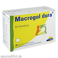 Macrogol dura Pulv. z. Herst. e. Lösg. z.Einnehmen, 20 ST, Mylan Healthcare GmbH