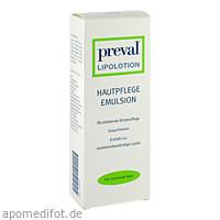 PREVAL LIPOLOTION, 500 ML, Preval Dermatica GmbH