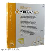 Medihoney HCS Hydrogelverband 7.2x7.2cm adhesiv, 10 ST, Apofit Arzneimittelvertrieb GmbH