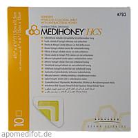 Medihoney HCS Hydrogelverband 11.5x11.5cm adhesiv, 10 ST, Apofit Arzneimittelvertrieb GmbH