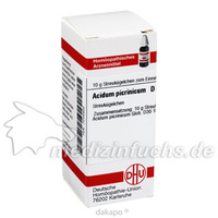 ACIDUM PICRINIC D30, 10 G, Dhu-Arzneimittel GmbH & Co. KG