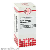 AURUM CHLORATUM NATRON D30, 80 ST, Dhu-Arzneimittel GmbH & Co. KG