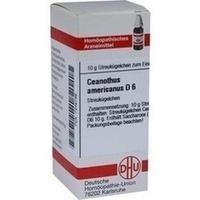 CEANOTHUS AMERICANUS D6, 10 G, Dhu-Arzneimittel GmbH & Co. KG