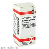 CHININUM SULF D12, 10 G, Dhu-Arzneimittel GmbH & Co. KG