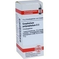 GNAPHALIUM POLYC D 3, 10 G, Dhu-Arzneimittel GmbH & Co. KG