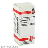 JABORANDI D 4, 10 G, Dhu-Arzneimittel GmbH & Co. KG