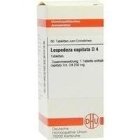 LESPEDEZA CAPITATA D 4, 80 ST, Dhu-Arzneimittel GmbH & Co. KG