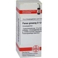 PANAX GINSENG D12, 10 G, Dhu-Arzneimittel GmbH & Co. KG