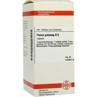 PANAX GINSENG D 6, 200 ST, Dhu-Arzneimittel GmbH & Co. KG