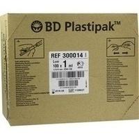 B-D PLASTIPAK Tuberkulinspritze 0.45x10 m.aufges.K, 100X1 ML, Becton Dickinson GmbH