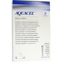 AQUACEL HYDROsorption Tamponade 2x45cm, 5 ST, Convatec (Germany) GmbH