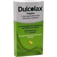 Dulcolax Dragees magensaftresistente Tabletten, 40 ST, Pharma Gerke Arzneimittelvertriebs GmbH
