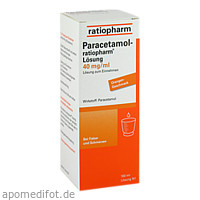 Paracetamol-ratiopharm Lösung, 100 ML, ratiopharm GmbH