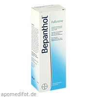 Bepanthol Fußcreme 100 ml, 100 ML, Bayer Vital GmbH