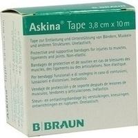 ASKINA TAPE 10MX3.8CM GRUEn UNELAST TAPEPFLASTER, 1 ST, B. Braun Melsungen AG