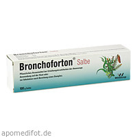 Bronchoforton Salbe, 100 G, Sanofi-Aventis Deutschland GmbH GB Selbstmedikation /Consumer-Care