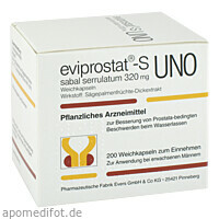 EVIPROSTAT S SABAL SERRULATUM 320 UNO, 200 ST, Pharmazeutische Fabrik Evers GmbH & Co. KG