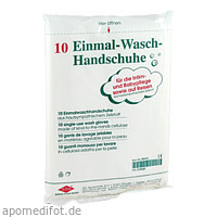 Einmal Waschhandschuhe, 10 ST, Büttner-Frank GmbH