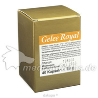 GELEE ROYAL extra stark 500 Kapseln, 40 ST, Bärenstein-Pharma GmbH