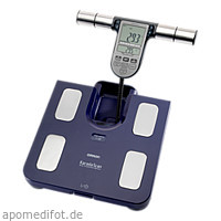 OMRON HBF 511B Körperfettwaage blau, 1 ST, Hermes Arzneimittel GmbH