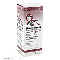 BROMHEXIN K.Meuselb.Trf.8mg/ml, 100 ML, Hermes Arzneimittel GmbH