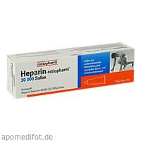 Heparin-ratiopharm 30000 Salbe, 150 G, ratiopharm GmbH