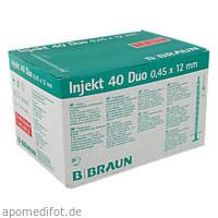 Injekt 40 Duo, 100X1 ML, B. Braun Melsungen AG