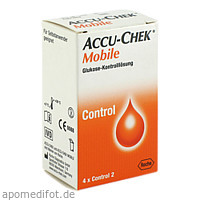 Accu-Chek Mobile Kontrolllösg 4Einmalapplikationen, 1X4 ST, Roche Diabetes Care Deutschland GmbH