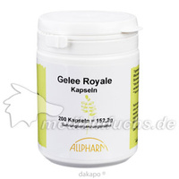 Gelee Royale (166mg) Kapseln, 200 ST, Allpharm Vertriebs GmbH