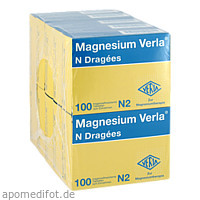 MAGNESIUM VERLA N Dragees, 10X100 ST, Verla-Pharm Arzneimittel GmbH & Co. KG