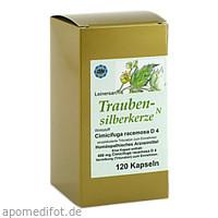 TRAUBENSILBERKERZE KAPSELN, 120 ST, Diamant Natuur GmbH