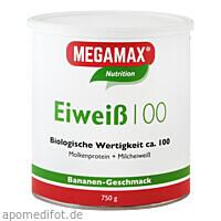 EIWEISS 100 BANANE MEGAMAX, 750 G, Megamax B.V.
