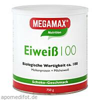 EIWEISS SCHOKO MEGAMAX, 750 G, Megamax B.V.