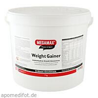 WEIGHT GAINER ERDBEERE MEGAMAX, 7000 G, Megamax B.V.