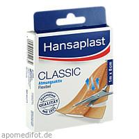 Hansaplast CLASSIC 1mx8cm 1273, 1 ST, Beiersdorf AG