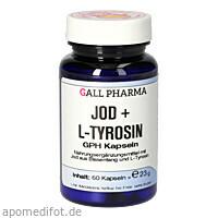 Jod + L-Tyrosin GPH Kapseln, 60 ST, Hecht-Pharma GmbH