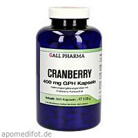 Cranberry 400mg GPH Kapseln, 360 ST, Hecht-Pharma GmbH