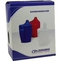Einnahmebecher Kunststoff mit 2 Trinkdeckeln, 1 Stück, Dr. Junghans Medical GmbH