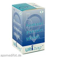 Uribag faltbare Urinflasche, 1 ST, Manfred Sauer GmbH