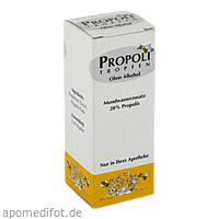 PROPOLI TROPFEN OHNE ALKOHOL, 20 ML, Health Care Products Vertriebs GmbH