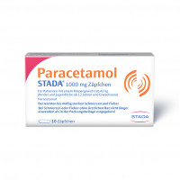 Paracetamol STADA 1000mg Zäpfchen, 10 ST, STADA Consumer Health Deutschland GmbH
