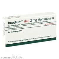 Imodium akut Hartkapseln, 12 ST, kohlpharma GmbH