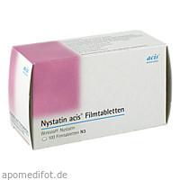 Nystatin acis Fimtabletten, 100 ST, Acis Arzneimittel GmbH