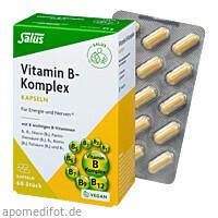 Vitamin-B-Komplex vegetabile Kapseln Salus, 60 ST, Salus Pharma GmbH